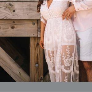 Fashion nova lace dress